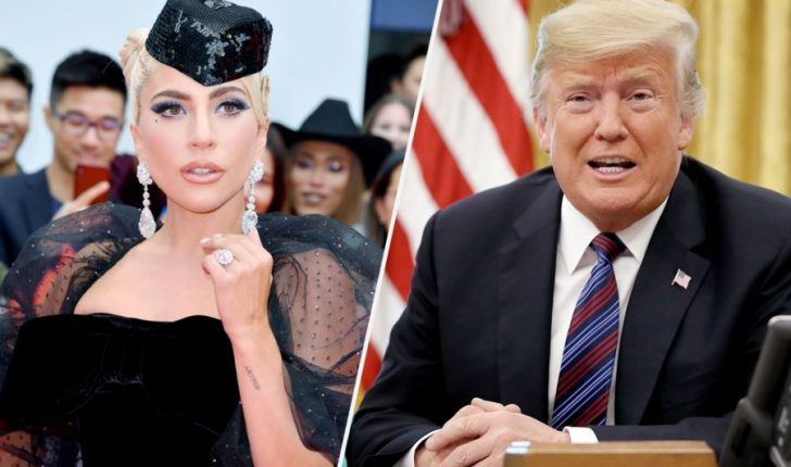 """Lady Gaga e quan presidentin Donald Trump një """"budalla dhe racist"""""""