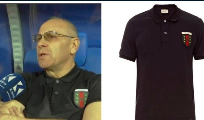 """Kryetari i FFK-së me bluzë """"Gucci"""", çmimi marramendës"""