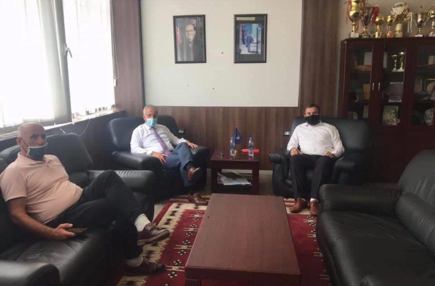 Muharremaj ka pritur në takim zv.ministrin e Bujqësisë