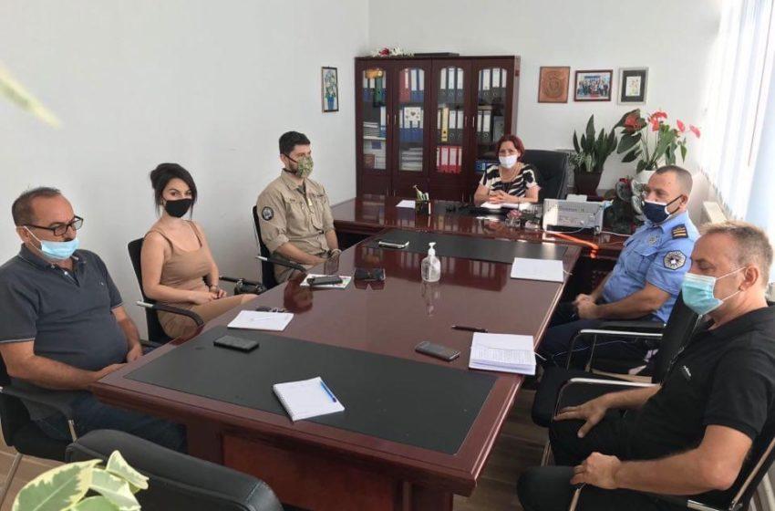 Takimi i Sigurisë lokale në Komunën e Suharekës