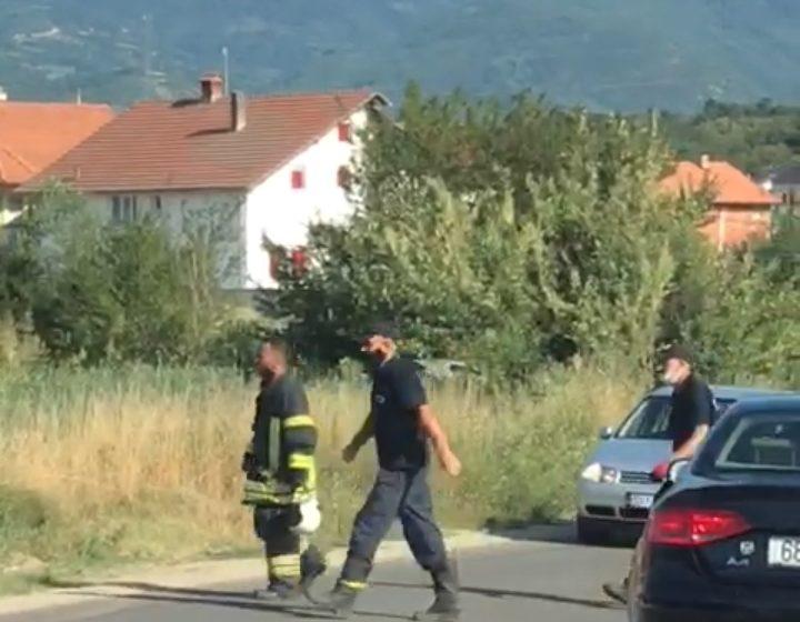 Vetaksident në hyrje të fshatit Sopijë (VIDEO)