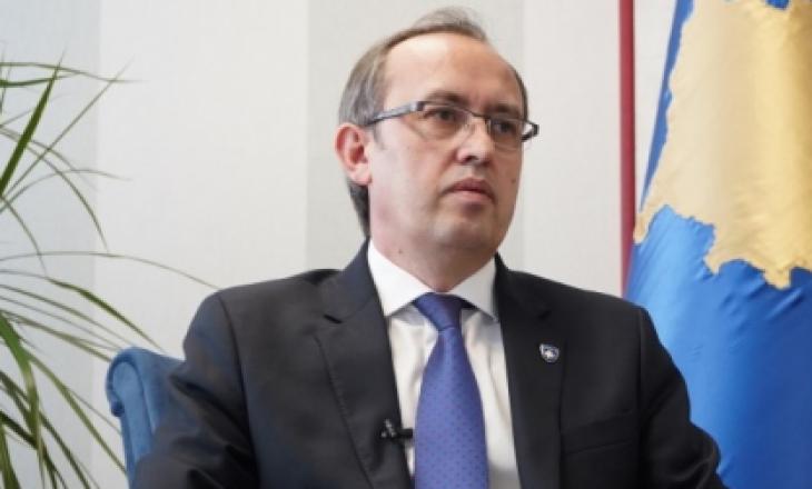 Hoti: Nuk ka përçarje brenda koalicionit qeverisës, dialogu përfundon me njohje reciproke