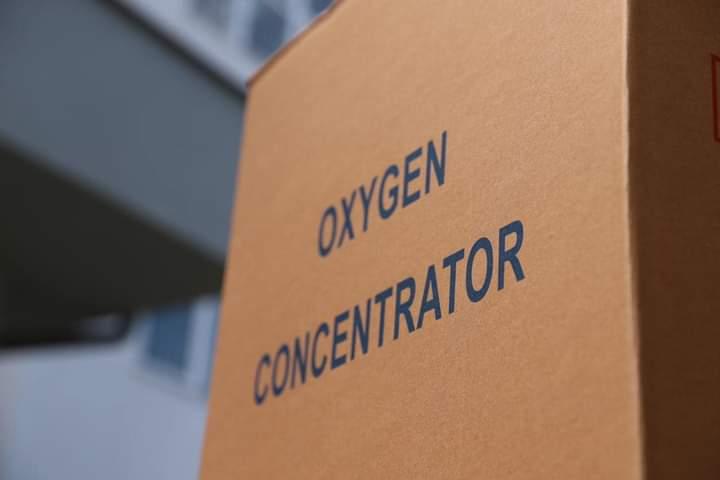 238 oksigjeno-koncentratorë, donacion i Organizatës Botërore të Shëndetësisë/OBSh-së iu dhuruan Qendrës Klinike Universitare të Kosovës/QKUK