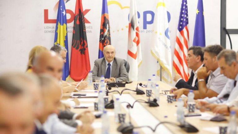 Deklarohet nënkryetari i LDK-së: Nëse gjërat nuk ecin mirë brenda koalicionit, të shkohet në zgjedhje