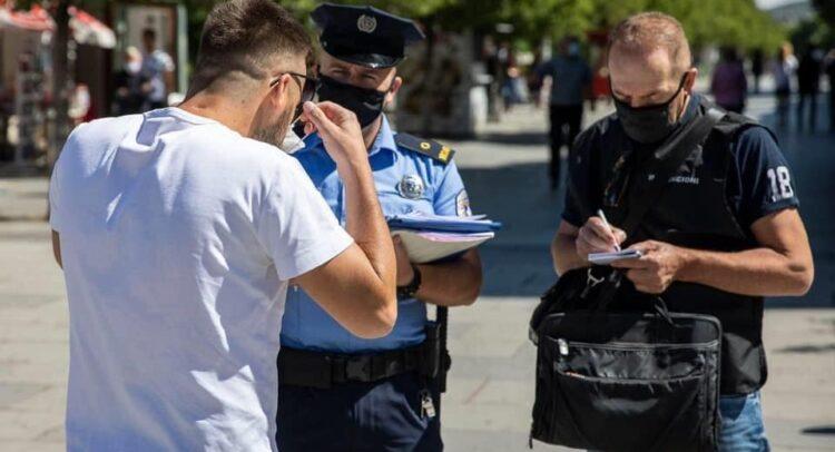 887 persona u gjobitën për mosrespektim të Ligjit COVID-19