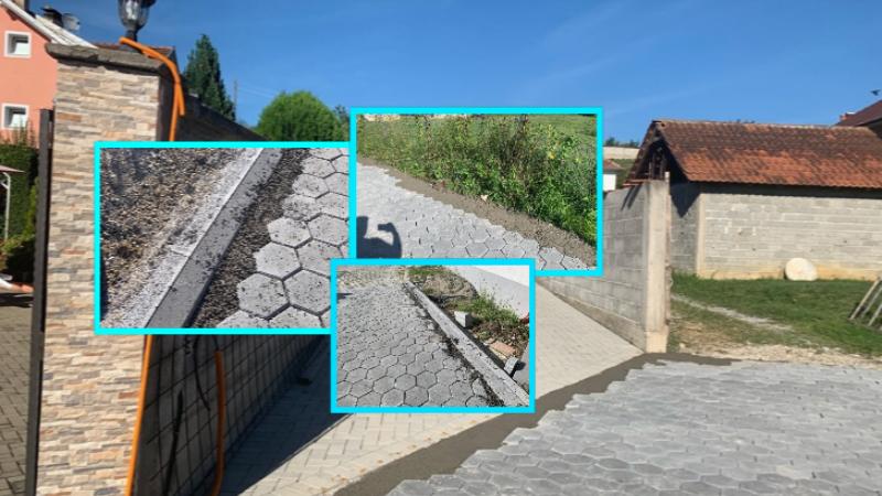 """Në vend kubëzave vendosin beton në Savrovë të Suharekës: Muharremaj e """"shpërbleu"""" me tender bashkëfshatarin e tij në kohë pandemie"""