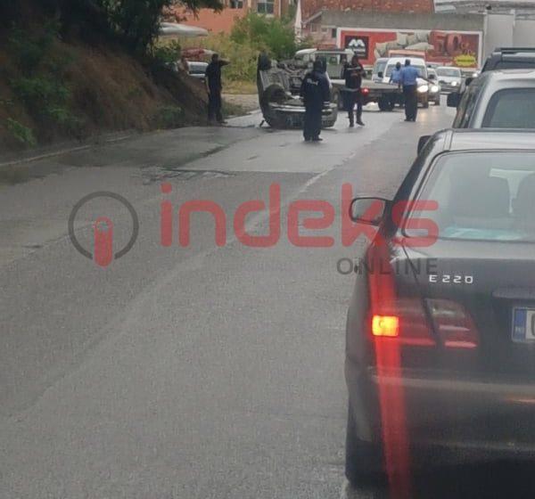 Aksidentet s'kanë të ndalur, vetura rrotullohet në Suharekë