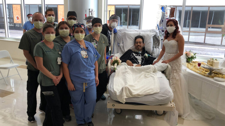 Dhëndri sëmuret me coronavirus para dasmës, nusja e befason në spital (Video)