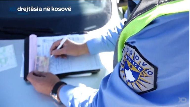 Qytetari dënohet pasi nuk mbajti maskën brenda në veturë