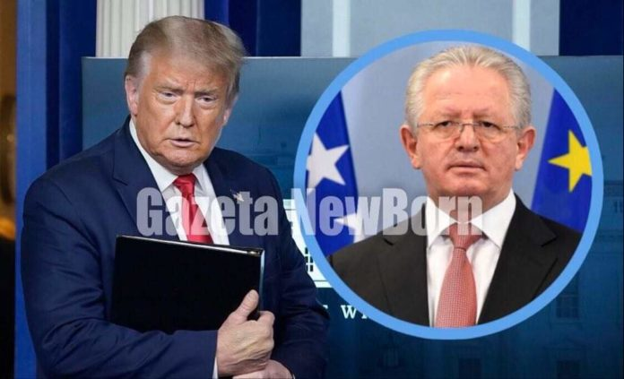 Ekskluzive: Skënder Hyseni u takua me Donald Trump në Shtëpinë e Bardhë