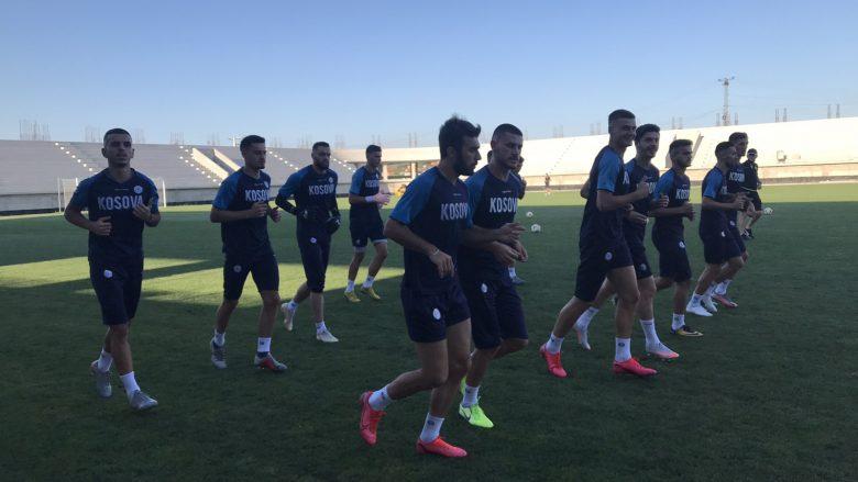 Përfaqësuesja U21 filloi përgatitjet për ndeshjen me Anglinë