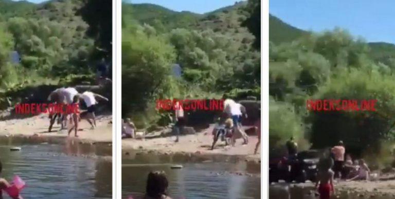 PAMJE/ Rrahje mes disa personave në lumin Ibër në Mitrovicë