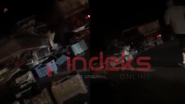 Pamje të tjera nga aksidenti në Orllatë (+18)