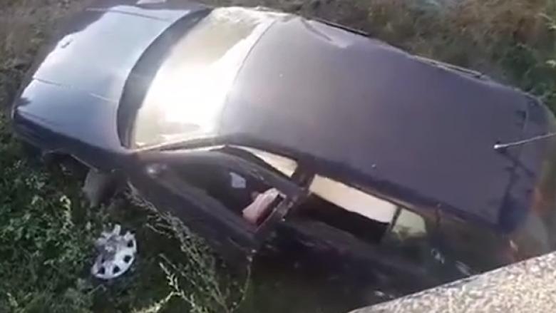 Aksident në Prishtinë, lëndohen tre persona