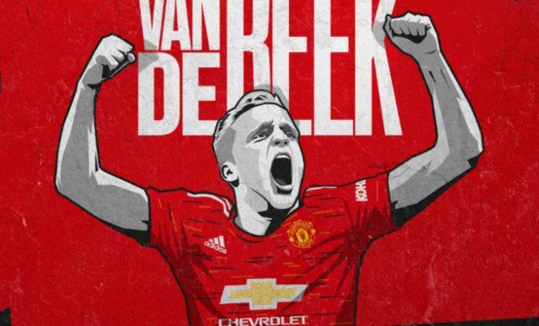 Zyrtare: Donny van de Beek nënshkruan me Manchester United