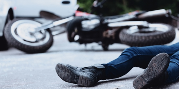 Aksident në Nishor, lëndohet motoçiklisti