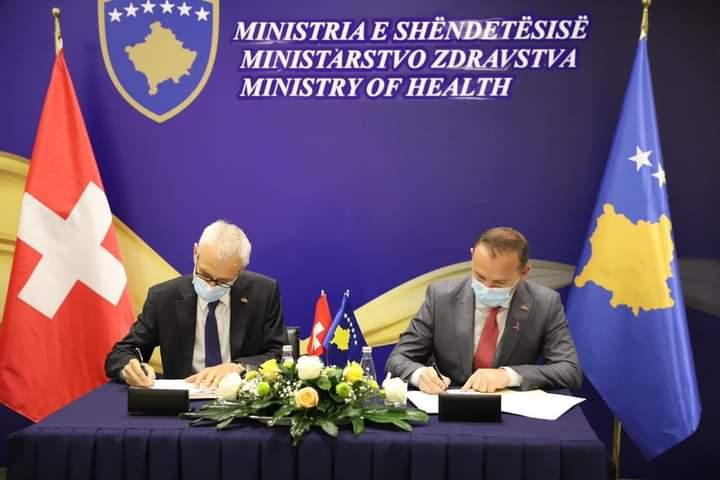 """""""Kujdesi shëndetësor i qasshëm dhe cilësor"""" mbështetet nga Zvicra me vlerë 8.8 milionë franga zvicerane"""