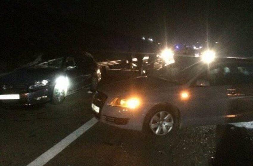 """Gjashtë persona të lënduar në dy aksidente në autostradën """"Ibrahim Rugova"""""""