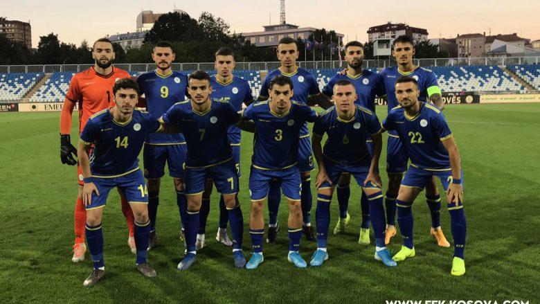 Formacionet zyrtare: Kosova U21 – Austria U21, Daku startonë nga minuta e parë, Baftiu nuk ndodhet as në 18-she