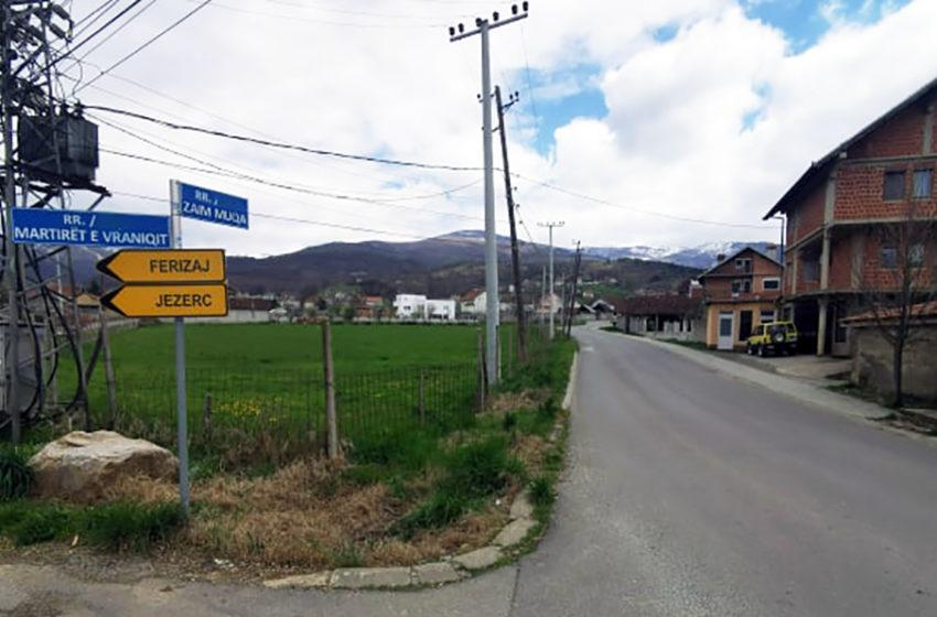 Rastet pozitive në komunën e Suharekës janë nga këto vendbanime