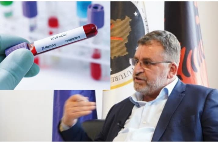 Ministri Blerim Kuçi infektohet me koronavirus