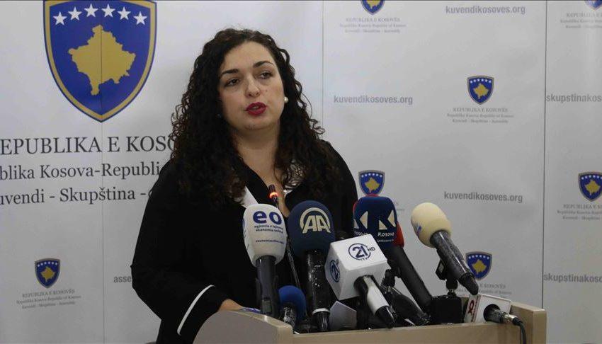Presidentja në detyrë e Kosovës, Vjosa Osmani, rezulton pozitiv me COVID-19