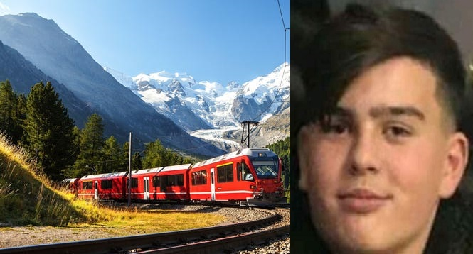 E dhimbshme/ Treni në Zvicër godet për vdekje 15 vjeçarin nga Kosova