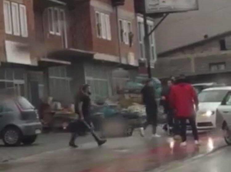 Aksident trafiku në Suharekë, plas edhe dajaku