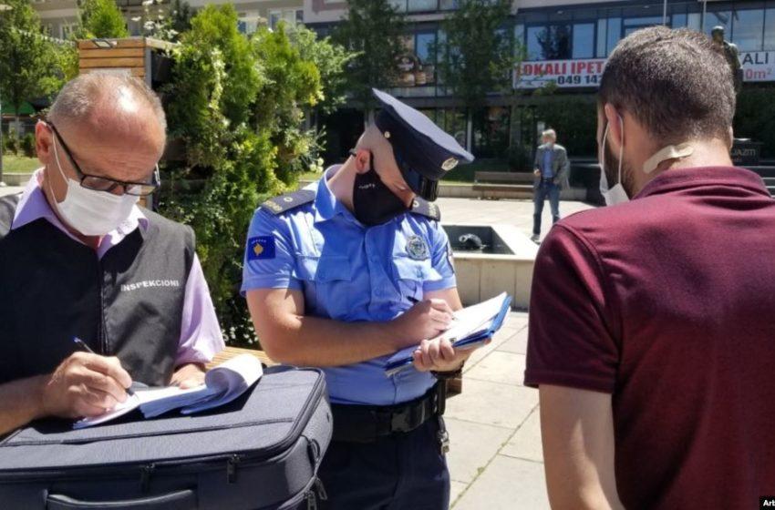 Masat antiCOVID: Vetëm për tre ditë shqiptohen mbi 900 gjoba