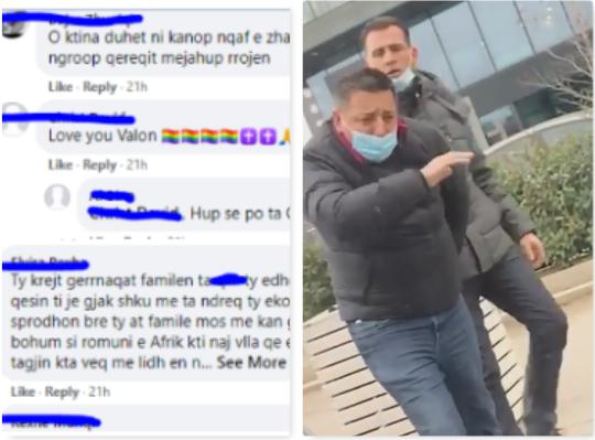 Para sulmit, Valon Syla mori qindra kërcënime me jetë në rrjetet sociale (Video)