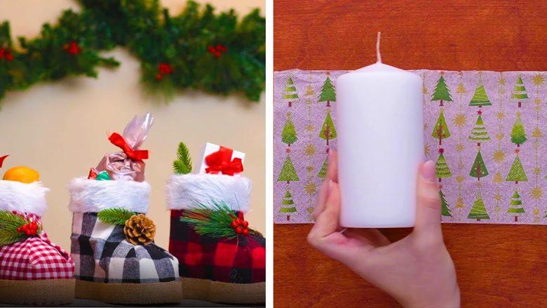 Dhjetë ide të lehta për Vitin e Ri: Bëni dekorime nga gjërat të cilat i keni në shtëpi