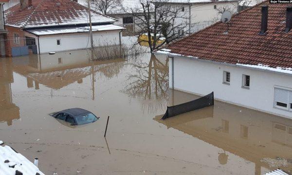 Një milion euro për kompensimin e dëmeve nga vërshimet në Kosovë