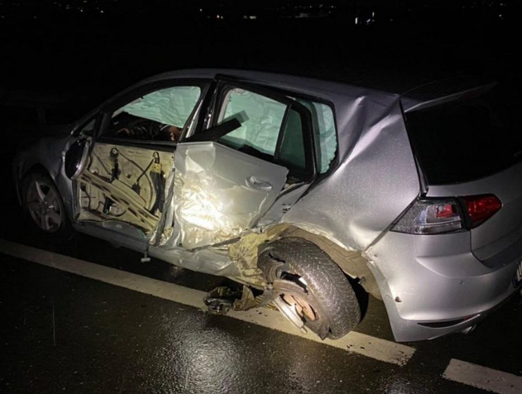 Aksident në autostradën Prizren-Suharekë, lëndohen katër persona