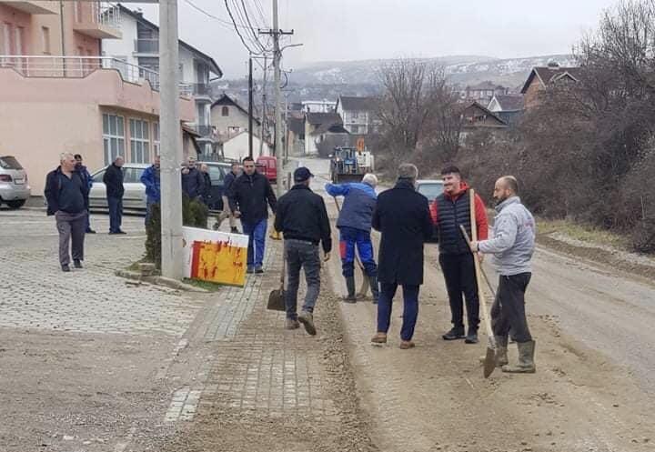 Muharremaj falënderon banorët e fshatit Samdraxhë