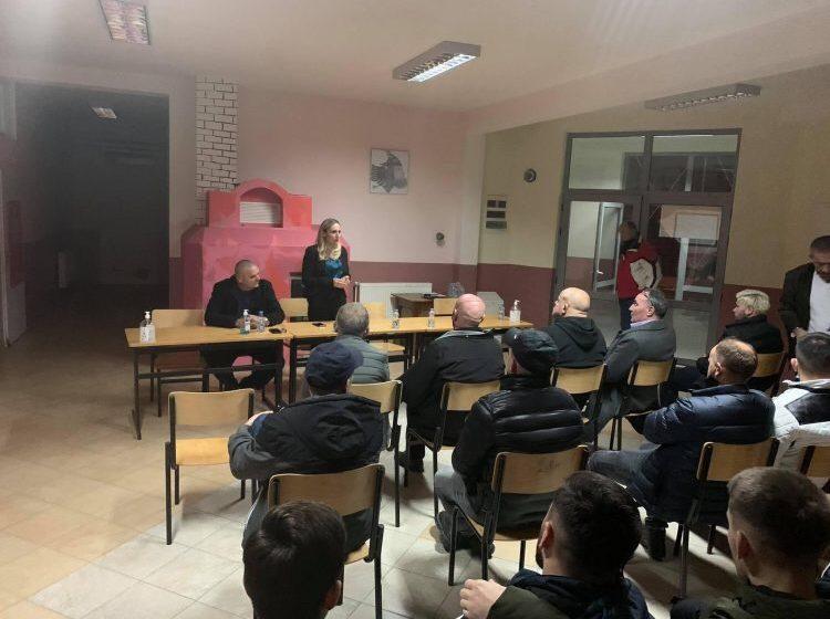 Programin e AAK-së e mirëpritën dhe mbështetën edhe banorët e fshatit Papaz