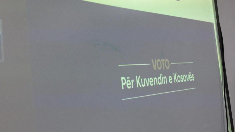 """""""Voto për Kuvendin e Kosovës"""", slogani i KQZ-së për zgjedhjet e 14 shkurtit"""