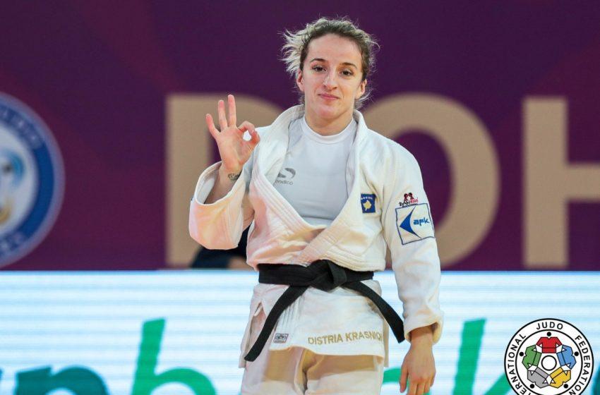 Distria Krasniqi shpallet Sportistja e Vitit 2020 nga KOK
