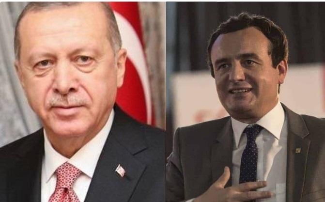 Albin Kurti i hyn në qejf Erdoganit: U gëzova që do ta rishikoni vendimin për Ambasadën në Jerusalem