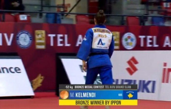 Majlinda Kelmendi fiton medaljen e bronztë në Tel Aviv