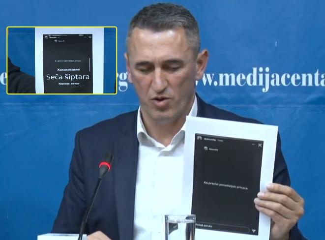 """""""Nesër do të prejmë shqiptarë"""" – Rashiq publikon mesazhet që i paraprinë sulmit ndaj djalit të tij"""