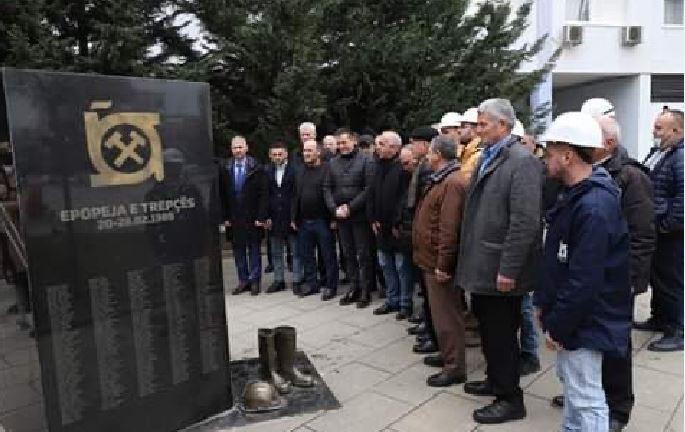 Shënohet 32 vjetori i grevës së minatorëve