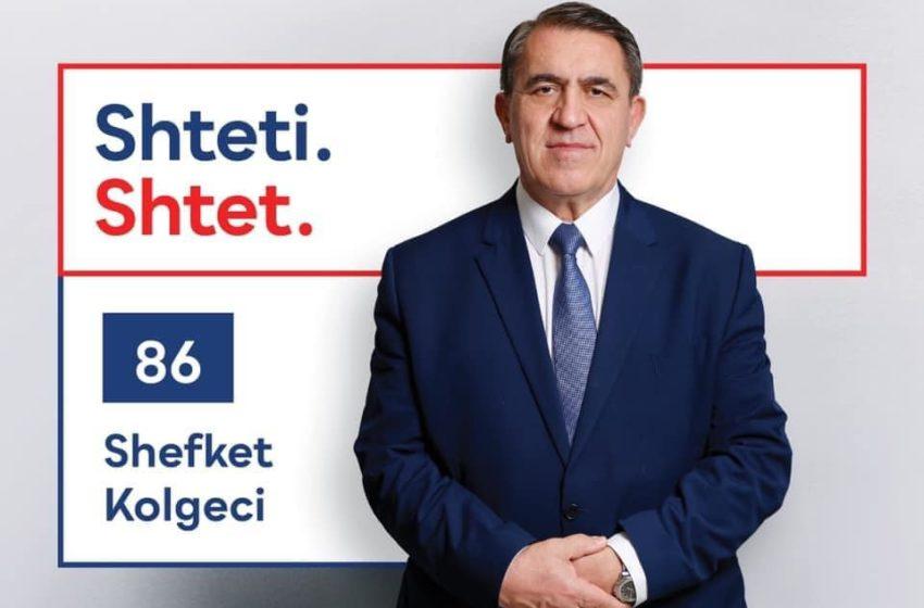 Ja sa vota fitoi Shefket Kolgeci në Suharekë