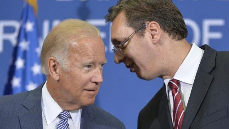 Vuçiq i përgjigjet presidentit Biden: Në Uashington kam treguar çfarë mendoj për njohjen e Kosovës