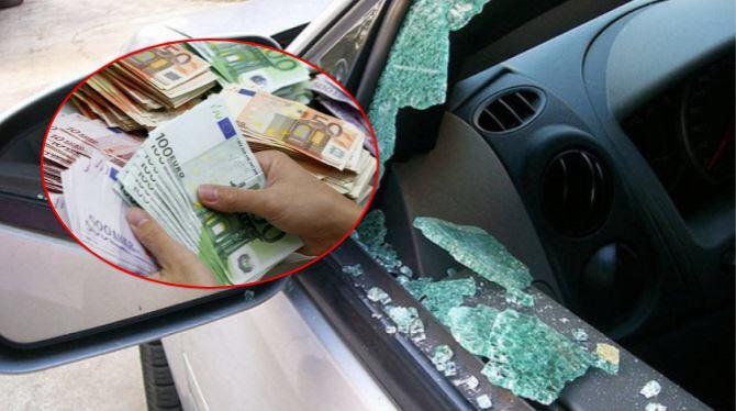 Suharekë: Hajnat ia vjedhin 15 mijë euro nga vetura