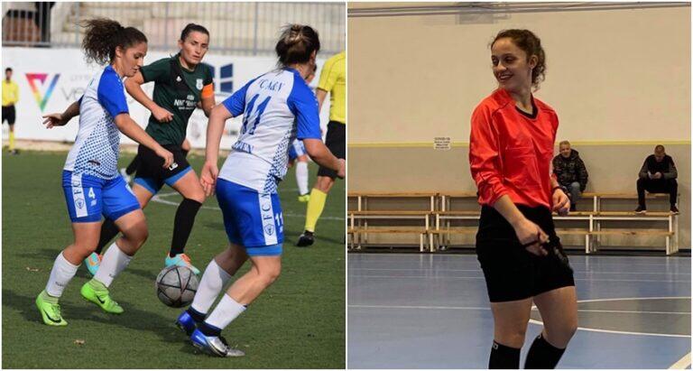 Njihuni me gjyqtaren më të re në futbollin kosovar – është nga Suhareka
