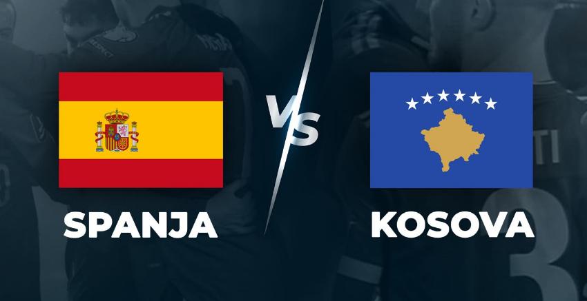 Formacionet zyrtare: Spanjë-Kosovë