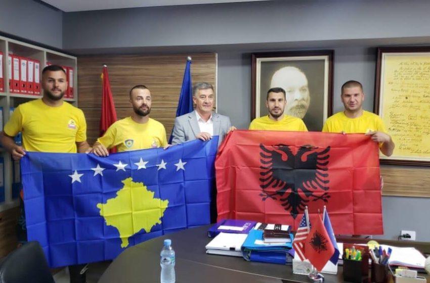 Grupi Motocross Theranda priten nga Prefekti i Vlorës