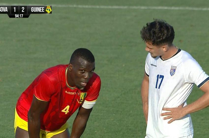 Golat e miqësores Kosova – Guinea 1:2 (VIDEO)
