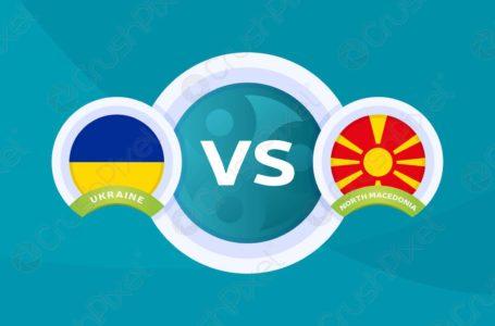 Formacionet: Ukrainë – Maqedoni e Veriut, katër shqiptarë titullar